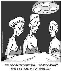 Surgery N' Sausage by WanyheadPress