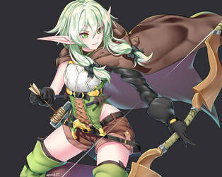 Archer High Elf by Kaiend