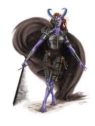 Assassin Demon by seneschal