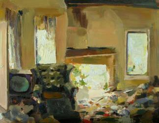 Fireplace Scene 2 by seneschal
