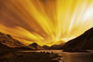 Wasdale Northern Lights by Capturing-the-Light