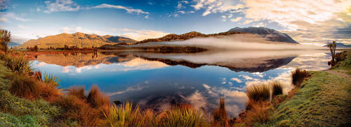 Lake Poerua  by Capturing-the-Light
