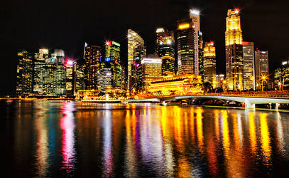 Merlion Park Singapore by Capturing-the-Light