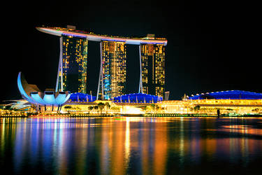 Marina Bay Sands Hotel Singapore  by Capturing-the-Light