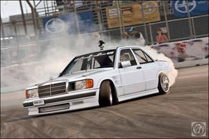 Mercedes 190 by Yzn90