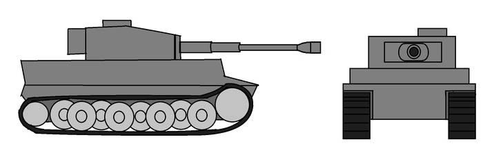 Tiger I Tank by Zach-USA