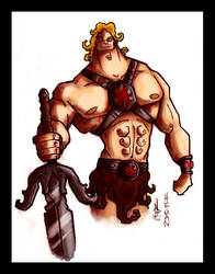 He Man 2.0 by mastrcbaoth