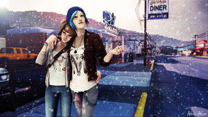 LiS - Max and Chloe - Snow in Summer by Maria-Mason