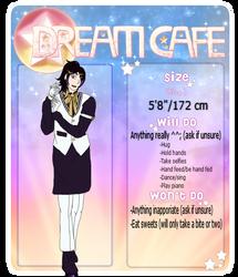 Dream Cafe Ref - Mako by Tamashii-Otomes