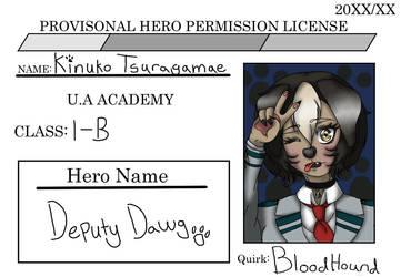 hero license-Kinu by Tamashii-Otomes