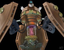 Dalek Emperor by quarridors