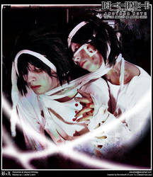 Death Note Cosplay: Beyond Birthday x L : Scars by Redustrial-Ruin
