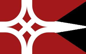 Flags of Touhou: Yumemi Okazaki by GreatPaperWolf