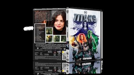 Titans - Capa do DVD - Temporada 1 by SoulGon