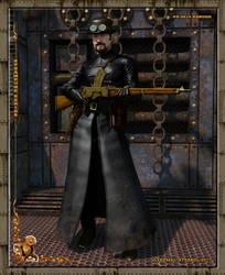 Steampunk Mercenary by dreamdesigner442