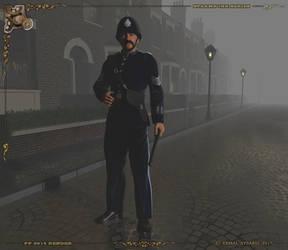Steampunk Police by dreamdesigner442