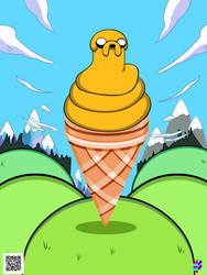 Jacke Ice Cream by TOLLTROLL