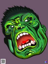 Hulk by TOLLTROLL