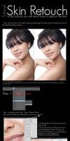 Skin Retouch Tutorial by SunFlowerButterfly
