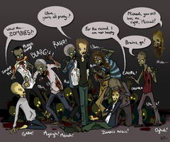 ZOMBIES by MimixMok