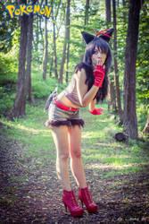 Zorua cosplay gijinka by AmuChiiBunny