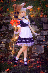 SuperKawaii Elin from Tera online by AmuChiiBunny