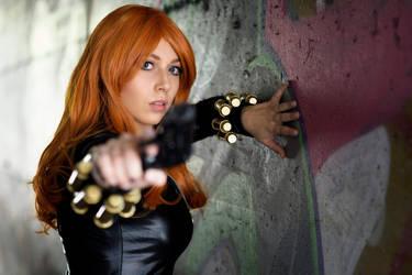 Black Widow cosplay 5 by AmuChiiBunny