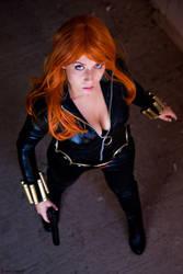 Black Widow cosplay 2 by AmuChiiBunny