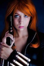 Black Widow cosplay 6 by AmuChiiBunny