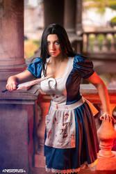 Alice Madness Returns cosplay 3 by AmuChiiBunny