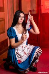 Alice Madness Returns cosplay 4 by AmuChiiBunny