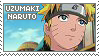 Stamp: Uzumaki Naruto by sirbartonslady