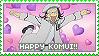 Stamp: Happy Komui by sirbartonslady
