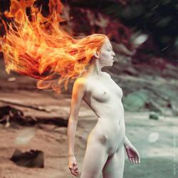 fire vs. ice by el-Cozmo
