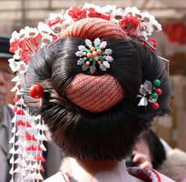 Geisha hair by my-sweet-A7X