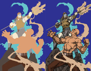 Godstorm2Inks by ComicFlatter