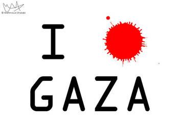 I love Gaza by poprage