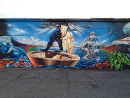 Hawaiian Gods Kane and Poliahu by estria