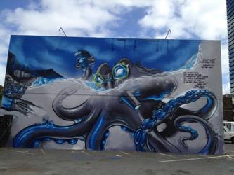 Octopus Kamehameha Estria by estria