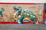 4 Guardians Tortoise by estria