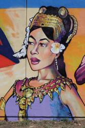 Cambodian Woman Oakland by estria