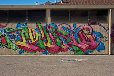 Estria Watermelon Oakland Graffiti by estria