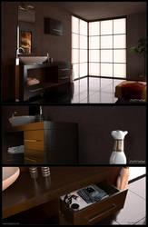 Modern Bathroom by xsekox