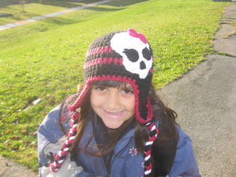 Monster High Crochet Hat by pootoo