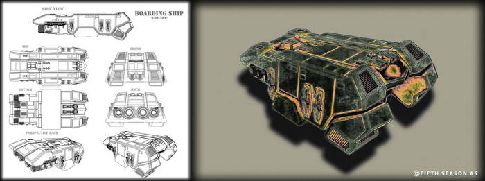 Boarding Ship Concept by Nym182