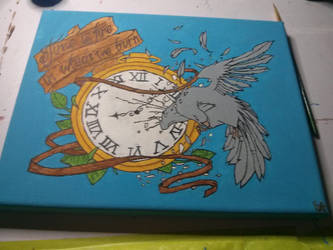 TIME FLYS by bloodyrose456