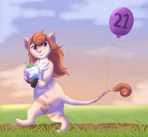 Birthday Stroll by Kiire