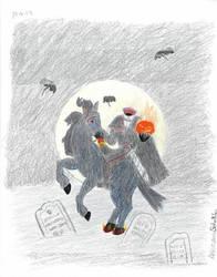 Headless Horseman by Attalus