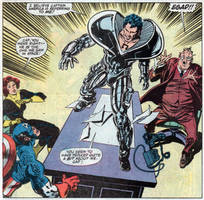 Beyonder Appears To Captain America by BeyonderGod