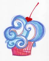 cupcake by vigiliae
